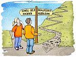 Zwei Wege führen ins Berufsleben