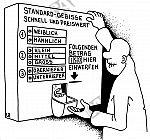Gebiss aus dem Automat