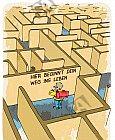 Der Weg ins Leben ist ein Labyrinth