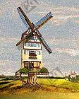 Die Windmühle draußen vor der Stadt