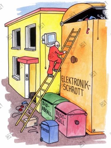 Unmengen an Elektronikschrott
