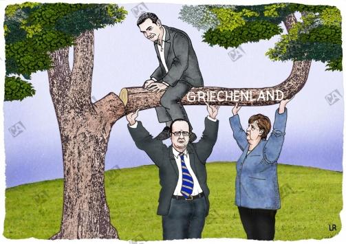 Griechenland bleibt in der Eurozone