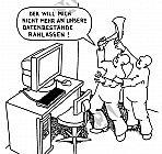 Gesperrte Datenbestände