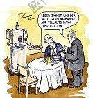 Ein Roboter als Ober