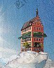 Gewächshaus in sonniger Höhenlage
