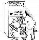 Computer aus dem Automat