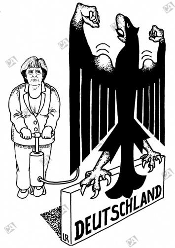 Angela Merkel stärkt Deutschland