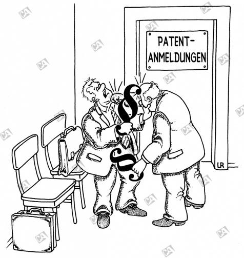 Streit im Patentamt