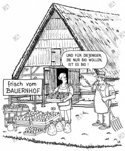 Frisch vom Bauernhof