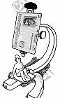 Patient unterm Mikroskop