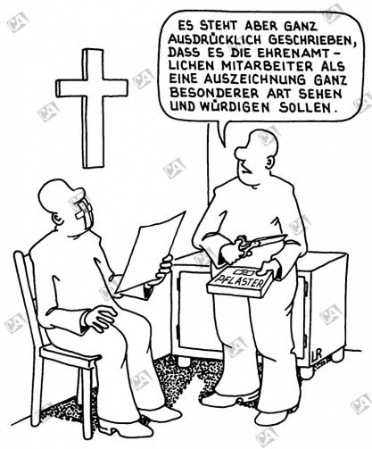 Der ehrenamtliche kirchliche Mitarbeiter