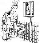 Warnung mit Nachdruck