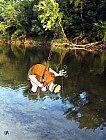 Wo steckt er denn, der Fisch ?