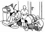 Mörtelmischmaschine