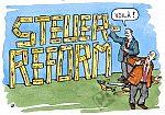 Steuerform selbst gebastelt