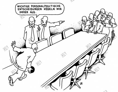 Personalpolitische Entscheidung