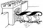 Eine Festung wird mit einem Paragraphen berannt