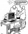Der Computer will anderen Kollegen