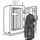 Das Kreuz im Tresor