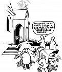 In die Kirche gehen muss Spass machen