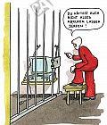 Ein Computer im Gefängnis