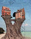 Baumhäuser am Strand