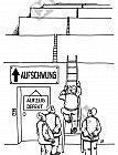 Aufzug defekt