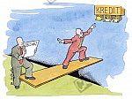 Bilanz und Kredit