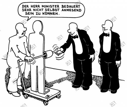 Der Herr Minister bedauert
