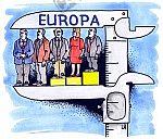 Europäer in der Schieblehre