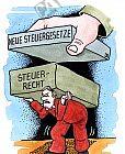 Neue Steuergesetze belasten die Bürger