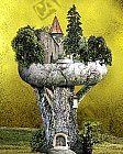 Die Bauminsel am Oberen Mauerweg