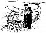 Reifen wechseln nach der Bibel