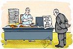 Ein Angestellter ist unterbezahlt