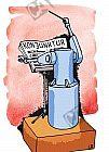 Roboter dirigiert die Konjunktur