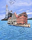 Das alte und das neue Rathaus in der Dinkelsbühler Bucht