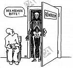 Röntgen-Gerippe