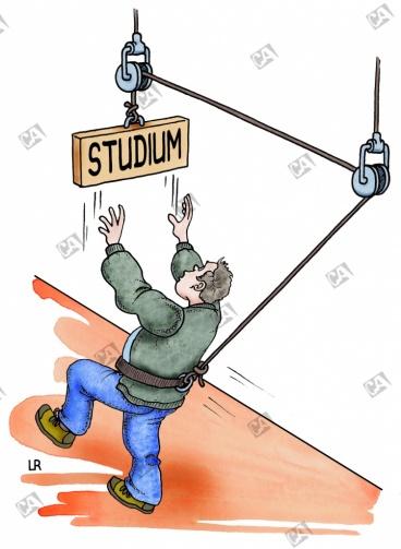 Das Ziel 'Studium' ist nicht zu erreichen
