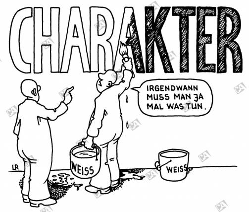 Den Charakter pflegen