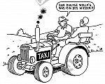 Mit dem Traktor zur Dialyse
