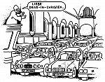 Ganz neu: Drive-in-Kirche