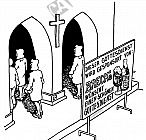 Der Gottesdienst wird gesponsort von ...