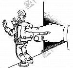 Schüler wird an die Wand gedrückt